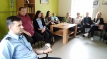 Lietuvos probacijos tarnybų specialistės Pusiaukelės namų poskyryje