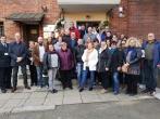 Suomijos bausmių vykdymo tarnybos atstovai Vilniaus pataiso namuose