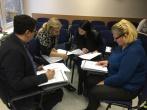 Tarnybiniai pareigūnų mokymai Vilniaus regiono skyriuje