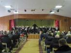 """Nuteistųjų sielas suvirpino universalaus orkestro """"Trimitas"""" grojami kūriniai"""