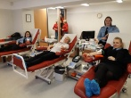Lietuvos probacijos tarnybos pareigūnai Klaipėdoje dalyvavo kraujo donorystės akcijoje