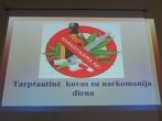 Viktorina nuteistiesiems - Tarptautinės kovos su narkomanija prevencijos dieną