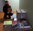 Keli šimtai knygų – tarsi Kalėdų stebuklas