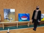 Kauno tardymo izoliatoriuje eksponuojami dailininkės Jūratės Bagurskienės darbai